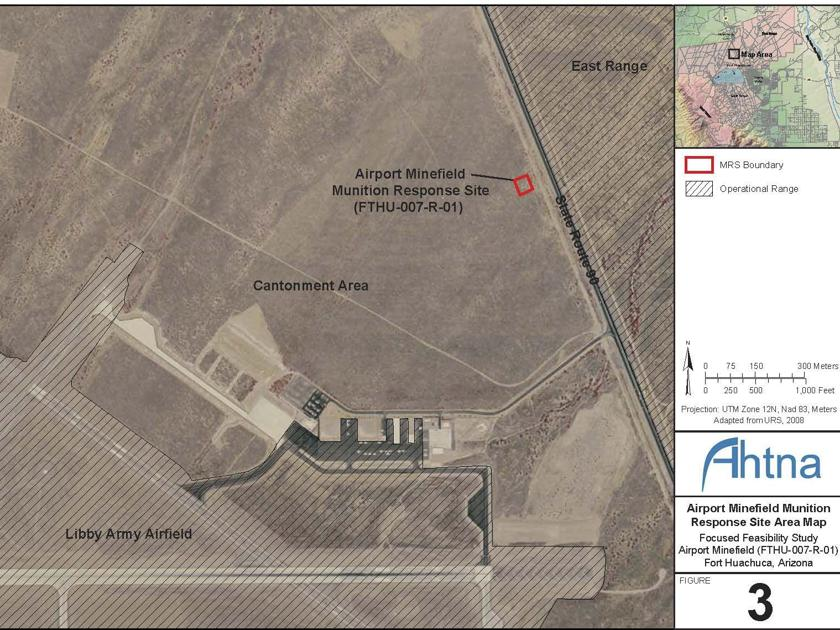Study Clears Minefield For Use Long Room - Us minefield map