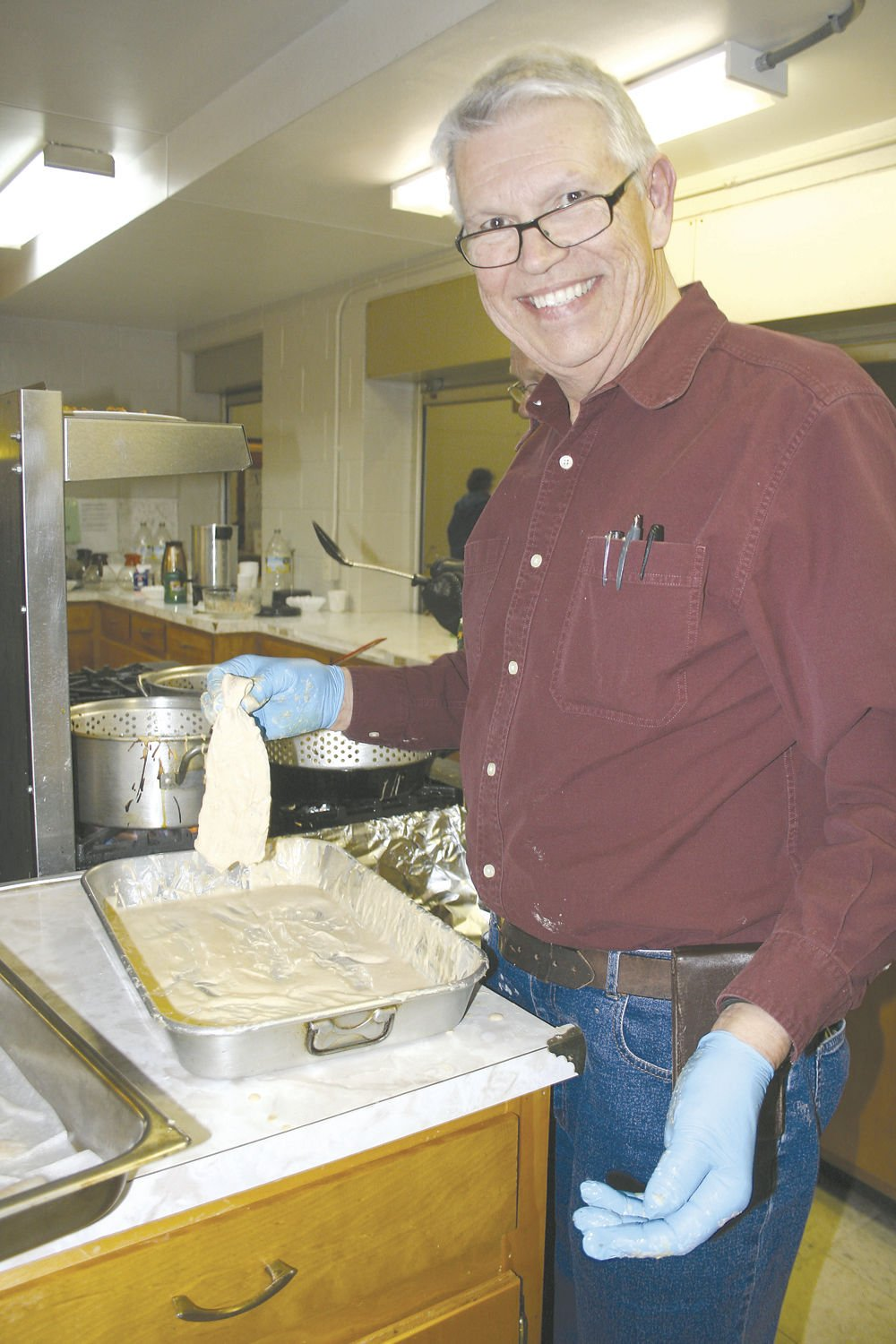 Fry guys keith leonard knights of columbus reel in a for Atlantic fish fry
