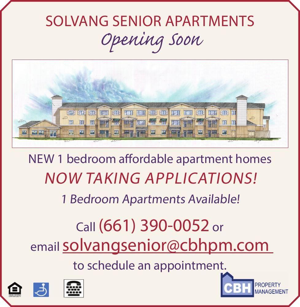 Solvang Senior Apartments - Apply Now