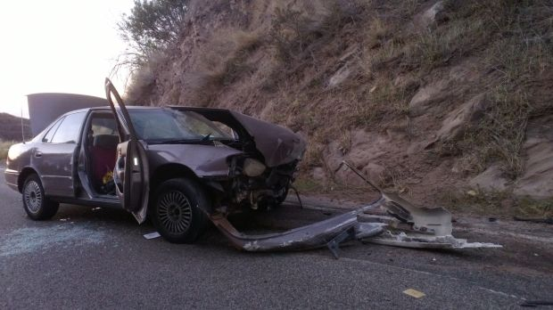 Car Crash San Ynez