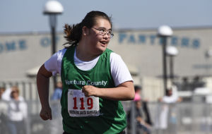 Special Olympics athletes excel during day 'cut out for them'