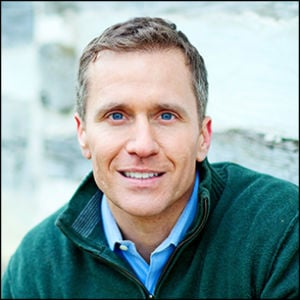 Eric Greitens, free lecture at UCSB Campbell Hall