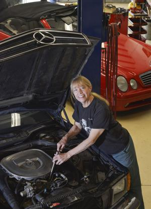 Under the hood with Valley mechanic, businesswoman Mary Nohr