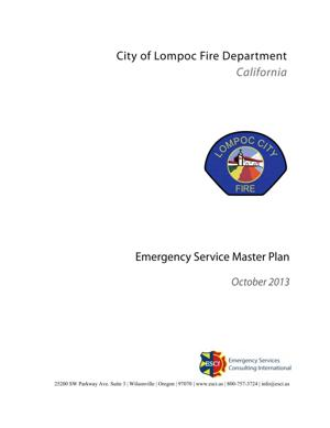 Planned fire station in Lompoc could increase response times
