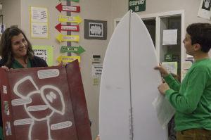 Grade school students start early career training