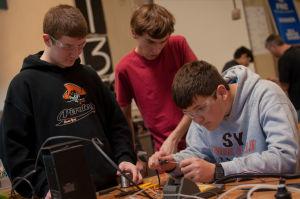 International robot program builds Valley following