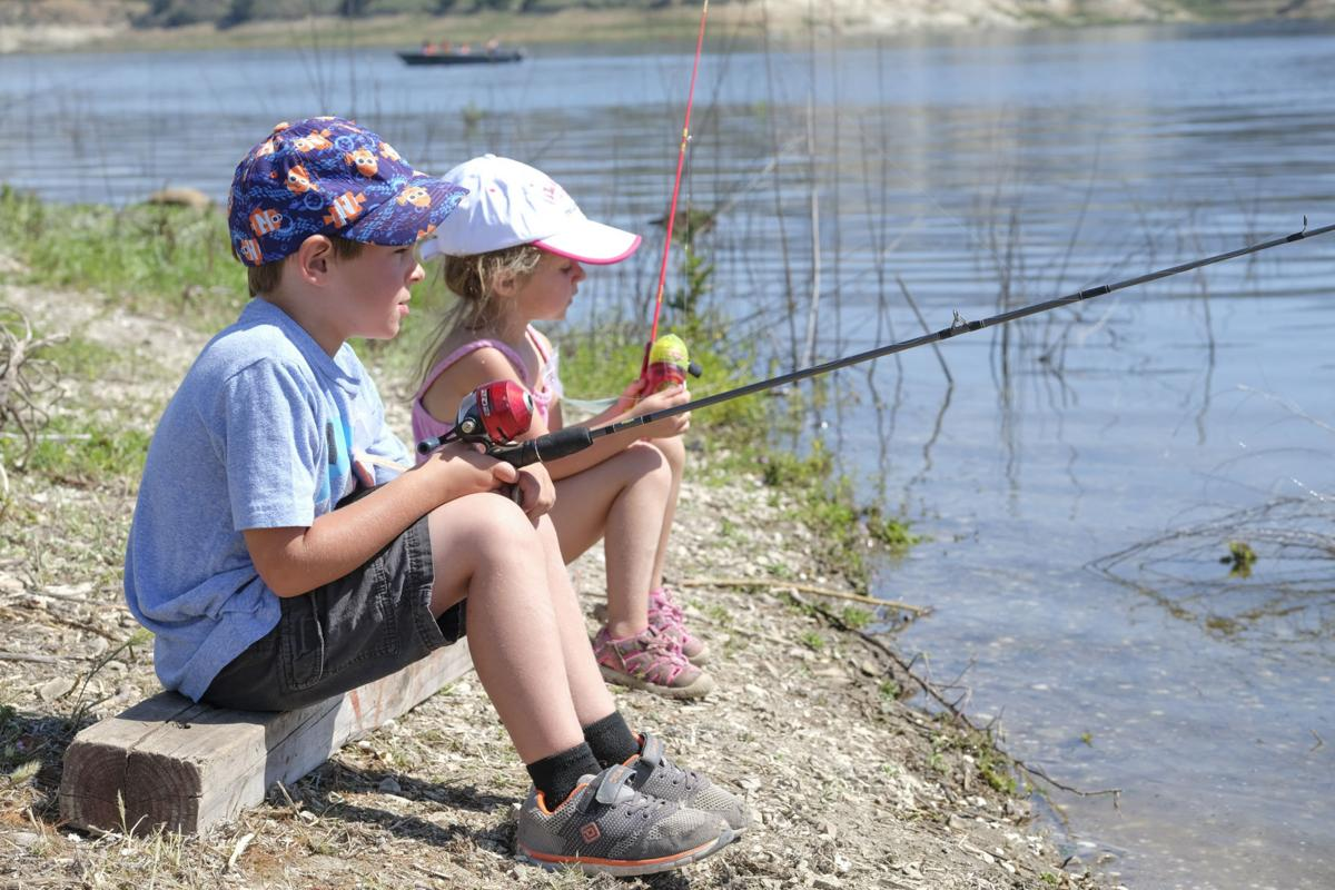 Anglers gather from near far for cachuma derby local for Cachuma lake fishing