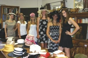 'Hats on Parade' event was a milliner's delight
