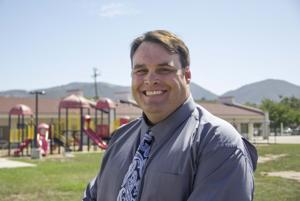 Solvang principal wagers messy bet with students for cancer research