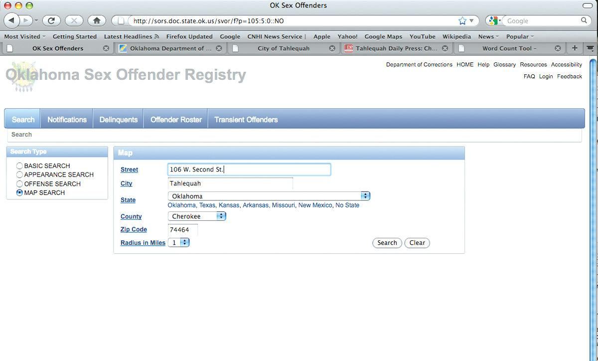 Sex offender search by address galleries 395