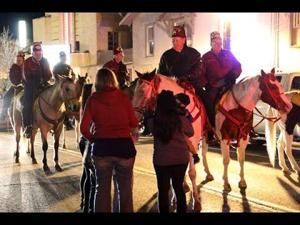 Tahlequah Oklahoma Christmas parade 2015
