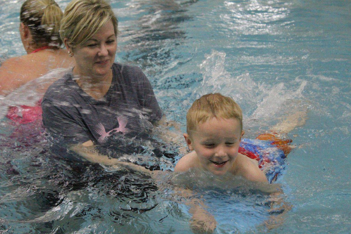 Lessons at nsu pool get kids comfortable in water local for Northeastern pool
