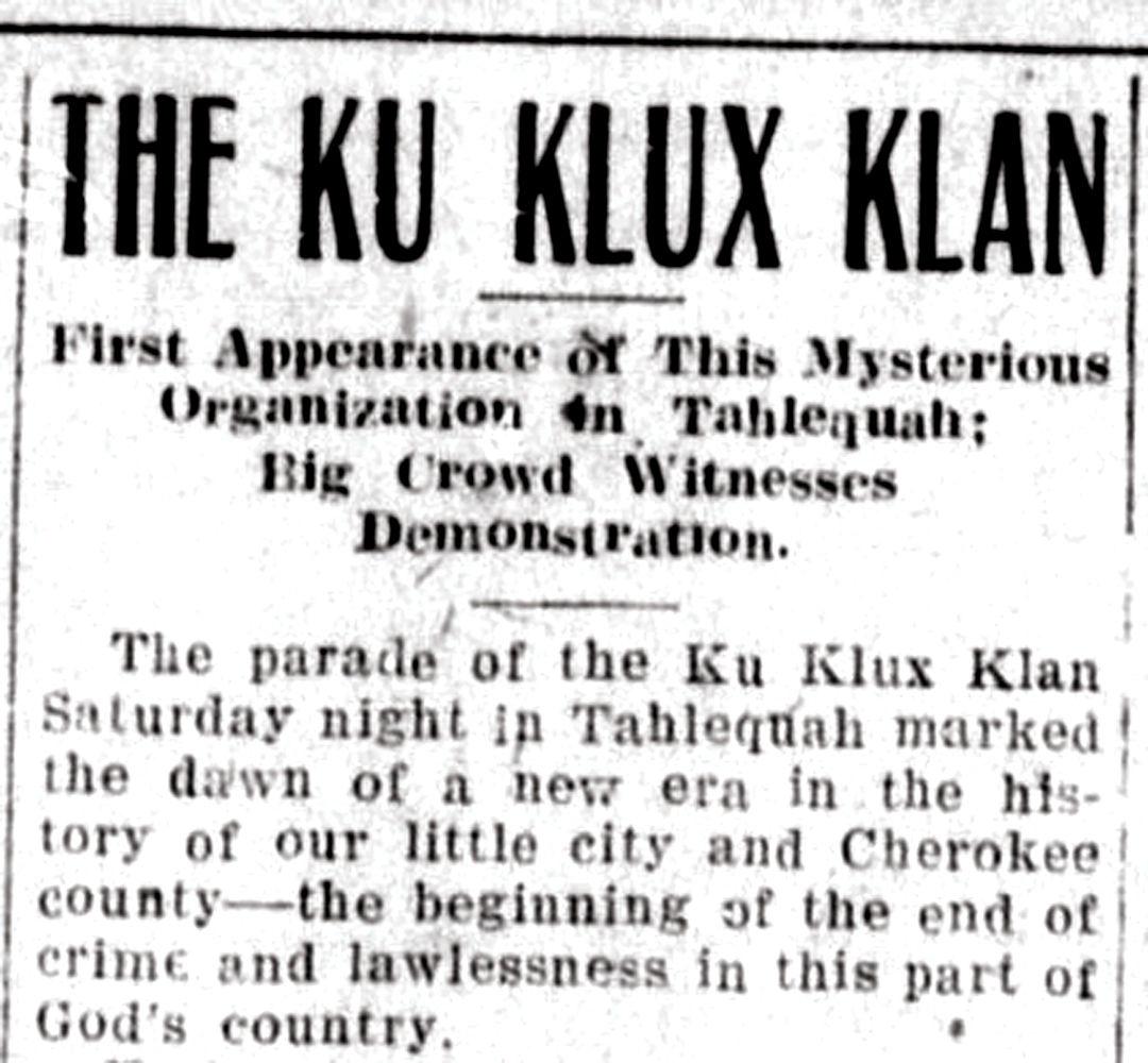 KKK and IWW wage drawn battle in Greenville, 1924