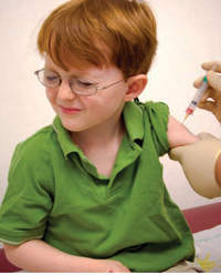 Many parents forget that schools require certain immunizations prior to the first day.