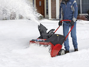 Snow blowers and electric shovels will help you deal with snow, but it is important to find the right tool for the right job.