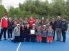 Holly girls tennis wins league title