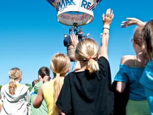 ReMax Platinum hot air balloon