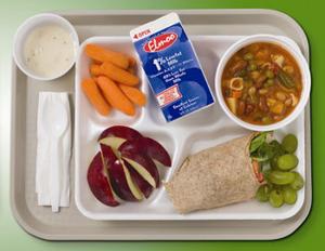 Schools required to serve healthier meals