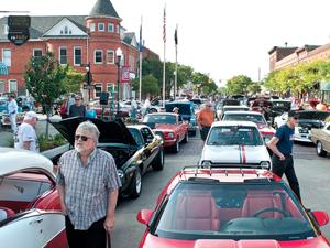 Downtown Holly Mi Car Show
