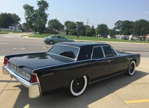 1963 LINCOLN CONTINENTAL. Really good shape, 49,000 original miles, suicide