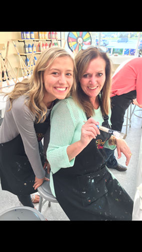 Painting with a twist opens in fenton tri county times for Painting with a twist fenton mi