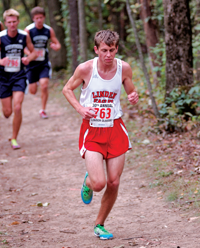 Linden's Kyle Susalla placed 56th at the Portage Invitational on Saturday.