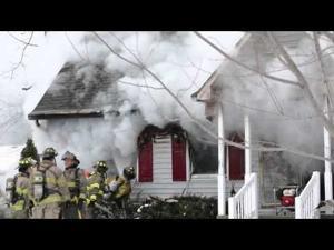 Fire Destroys Argentine Home, starts in basement