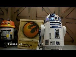 Kurt makes Star Wars Droids