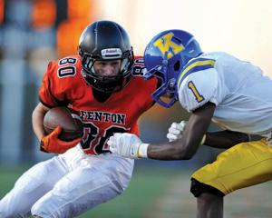 <p>Kevin Lack is one of the returning skill position players to the Fenton Tigers' 2015 football squad. Fenton is gunning for its fifth straight Metro League title this season.</p>