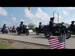 Tpr Chad Wolf Funeral Procession— short version