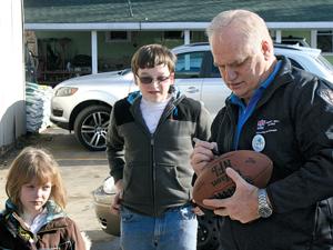 Ex-Detroit Lions quarterback Eric Hipple