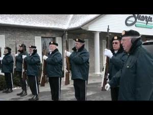 Honor Guard for Officer Steven Parker
