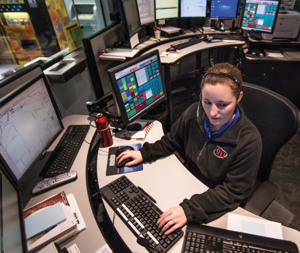 """Fenton 911 Dispatch Supervisor Samantha Sturgis said she receives accidental 911 """"pocket dial"""" calls each day, but few people deliberately make non-emergency 911 calls."""
