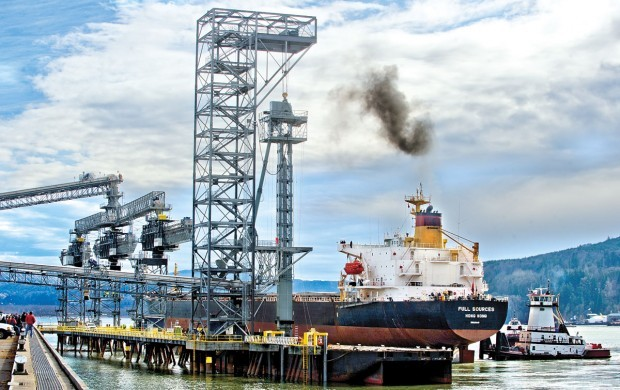 No protest as grain ship docks at EGT terminal