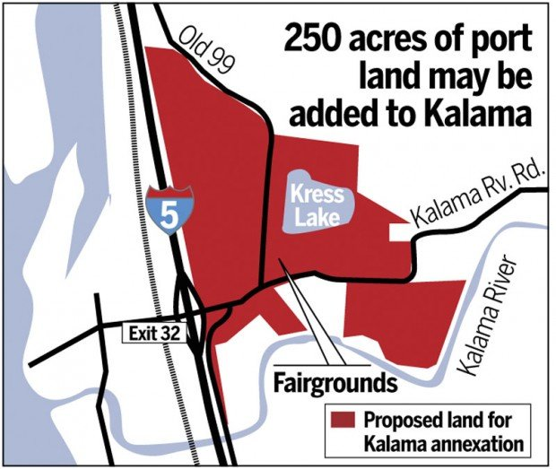 Kalama proposed annexation