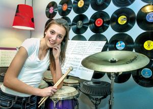 Timing's the key for Mark Morris percussion phenom