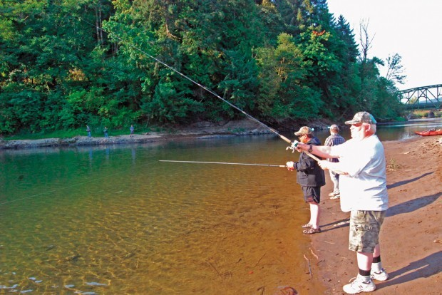 Tributaries see an increase in fishing action lifestyles for Kalama river fishing