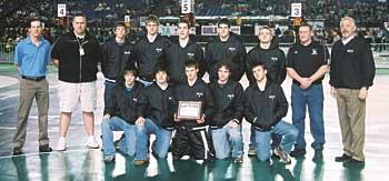 photo, Mules wrestlers land academic title