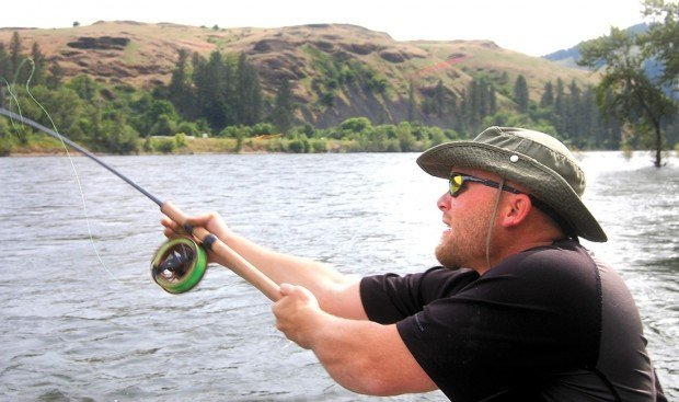 Old fashioned style of fishing is catching on lifestyles for Center pin fishing