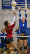 Prep volleyball: Toutle takes control in home sweep of Wahkiakum