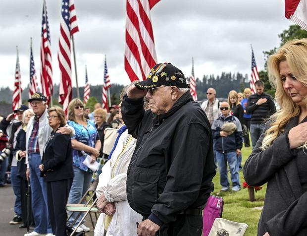 Memorial Day: 'We will not lose sight'