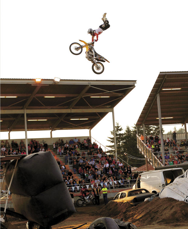 Monster Trucks Motorcycles Rev Up Cowlitz County Fairgrounds