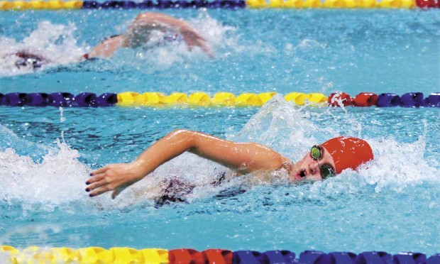 mm 39 s maslennikova leads area contingent at state swimming preps