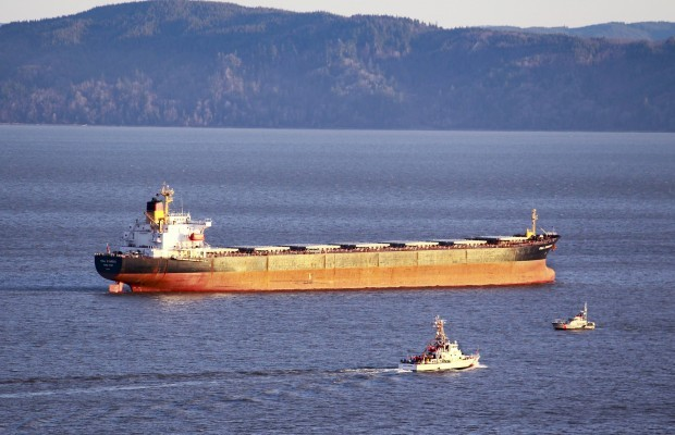 Grain ship due Tuesday at EGT terminal