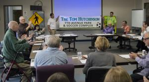 City names 7th Avenue fields after Councilman Hutchinson