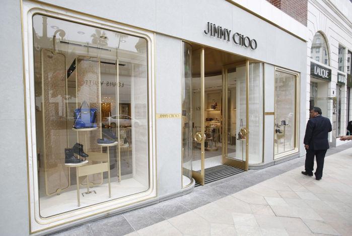 Fashion designer Jimmy Choo