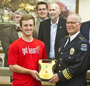 Spencer's HeartStrong Foundation donates five AEDs to Longview police
