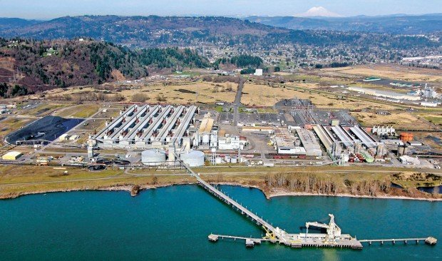 Millennium Bulk Terminals has proposed building a $643 million coal export dock at the former Reynolds Metals site west of Longview.