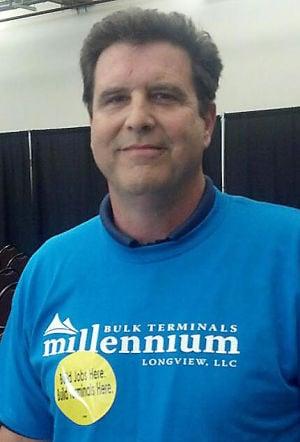 Jeff Washburn supports the Millennium coal terminal