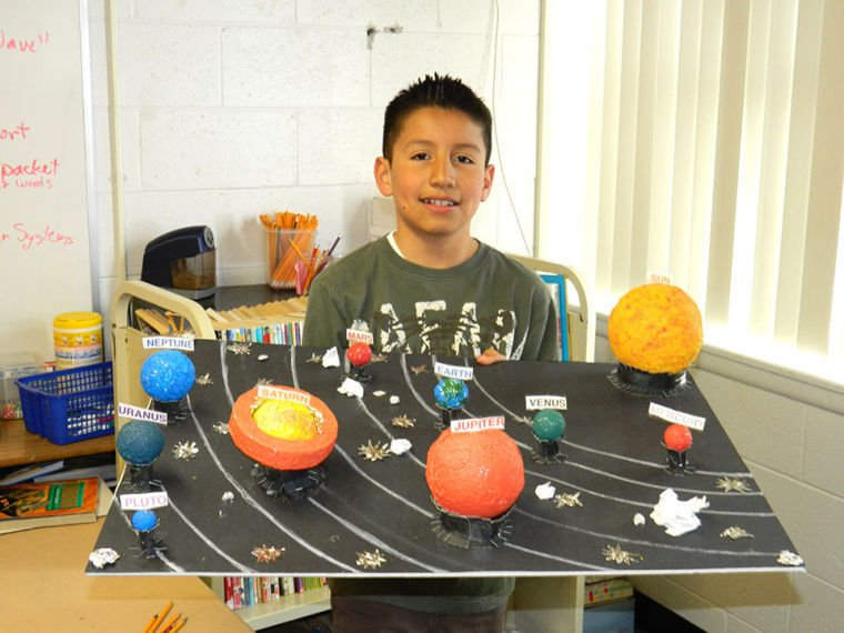 3d solar system model school project - photo #36